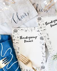 photos of thanksgiving dinner illustrated printable thanksgiving dinner menu