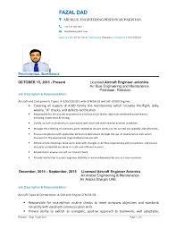Sample Of Formal Resume by Download Aircraft Maintenance Engineer Sample Resume