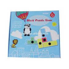 jeux en bois pour enfants drôle bloc puzzle jeu en bois éducatifs pour enfants jouets et
