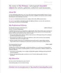 Photographers Resume Sample by Pr Manager Page2 Non Profit Resume Samples Pinterest Free