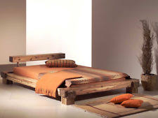 ehebett bett 180x200 massivholz doppelbett mango braun bettgestell klassisches bettgestell aus massivholz ebay