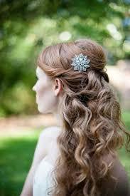 hair styles with rhinestones 165 best wedding beauty half up half down hair images on
