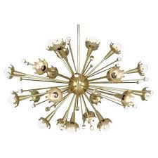 Chandelier Antique Brass Robert Abbey Lighting 710 Jonathan Adler Sputnik Chandelier