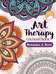 art therapy coloring book mandalas and more by hinkler paperback