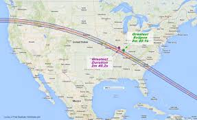 Cleveland Map Usa by Nasa Plans For U0027great American Total Solar Eclipse U0027 Six Months