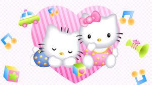 hello kitty desktop wallpaper pics wallpapersafari