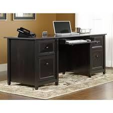 Sauder 5 Shelf Bookcase Assembly Instructions by Sauder Edge Water Estate Black Desk 409042 The Home Depot