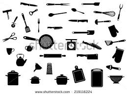 Kitchen Utensils Design by Kitchen Utensils Silhouette Stock Images Royalty Free Images
