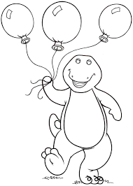 barney friends coloring pages coloring pages kids