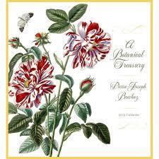 botanical calendars buchoz botanical treasury 2019 wall calendar calendars