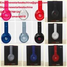 Light Blue Beats New Black White Red Blue Pink Gary Beats Solo 2 V2 Headphone