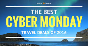 black friday travel the best cyber monday travel deals for 2016 thrifty nomads