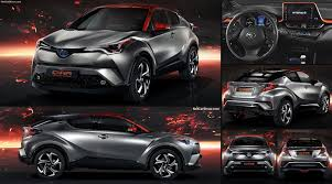 toyota new c hr toyota c hr hy power concept 2017 pictures information u0026 specs