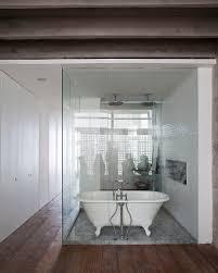 Open Showers Free Standing Showers Bathroom Cozy Home Design
