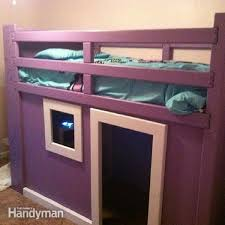 Plans For Making A Loft Bed by Bunk Bed Plans 21 Bunk Bed Designs And Ideas Family Handyman