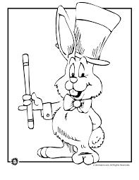 rabbits coloring pages magic rabbit coloring page woo jr kids activities