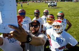 Flag Football Utah All Poly Camp Draws More Than 100 College Coaches To Utah Ksl Com