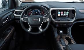 gmc terrain 2017 interior 2017 gmc acadia pros and cons at truedelta 2017 gmc acadia review