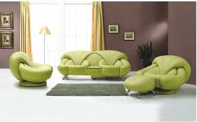 Green Sofa Living Room Ideas Latest Green Sofa Design And Dark Purple Wall In Living Room