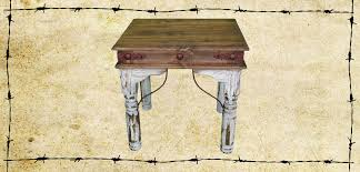 Distressed White Table Table Sets Ricky Rustics