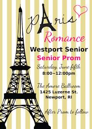 graduation invite paris prom invitation parisian prom invitations paris graduation