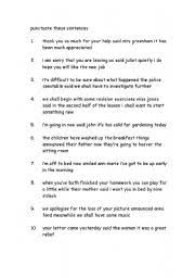 brilliant ideas of punctuation worksheets grade 9 in sheets