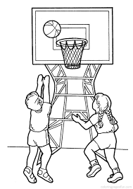 marvelous basketball court coloring pages with basketball coloring