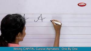 cursive writing for children writing capital cursive letters