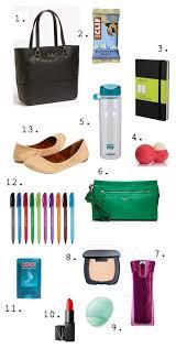 10 Must Bag Essentials What by Work Bag Essentials Pretty