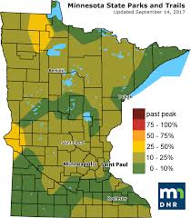 Mn State Park Map by Head North West For The Best Fall Colors This Weekend Minnesota