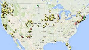 map of cities map 200 sanctuary cities in 32 states and d c the