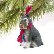 schnauzer ornament ebay