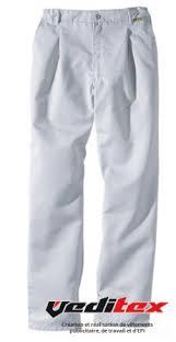 pantalon cuisine pantalon de cuisine polyester coton gris perle altis 2009 molinel