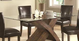 Wooden Base For Glass Dining Table Dining Room Table Bases Wood Interesting Bases For Glass Dining