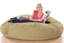 giant bean bag beds camel microsuede jaxx pillow sac the futon
