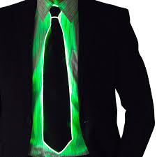 Tron Halloween Costume Light Up by Light Up Neck Tie Bow Glow In The Dark Light Up Rave Wear