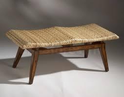 woven coffee table u2013 round woven seagrass coffee table dark havana