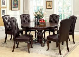 Circle Dining Room Table Bellagio Round Dining Room Set Casual Dining Sets Dining Room
