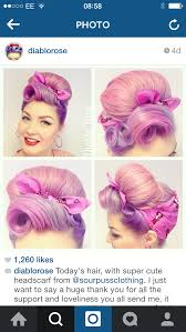 wetset hair styles great way to hide wet set pin curls as they dry κότσοι με