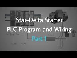 plc training star delta starter plc program and wiring part 1