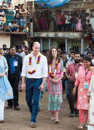 where do prince william and kate live prince william and kate middleton meet mumbais slumdog children in