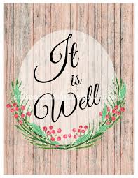 free printable art home decor andrea nicole it is well wall art free printable