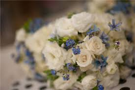 Wedding Flowers Blue And White 26 Fresh And Charming Flowers In Season In October Everafterguide