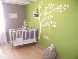 chambre enfant beige bebe anis blanc model les creation decoration beige gris garcon