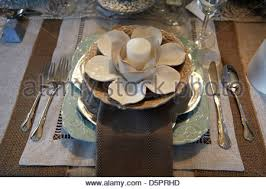 Fancy Place Setting Fancy Place Setting Stock Photo Royalty Free Image 79122525 Alamy