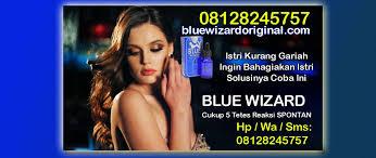 blue wizard original perangsang wanita 08128245757