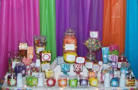 Plastic Candy Containers For Candy Buffet by Plastic Backdrops For Parties Marissa U0027s Candy Buffet The