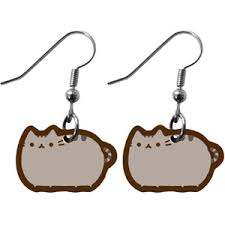pusheen earrings pusheen the cat earrings polyvore