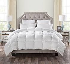 home design alternative comforter amazon com luxurious size white goose alternative