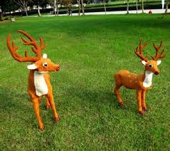 pretty outdoor reindeer christmas decorations outdoor furniture